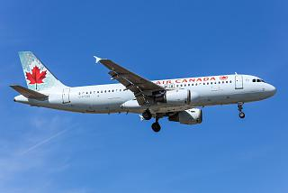 Airbus A320 C-FTJQ airlines Air Canada