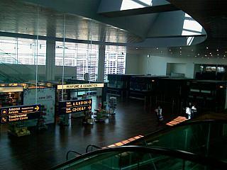 The passenger terminal of the airport Kastrup Copenhagen
