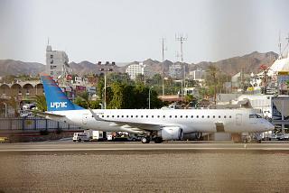 Самолет Embraer 190 авиакомпании Arkia в аэропорту Эйлат