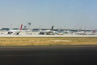 The Istanbul Ataturk Airport