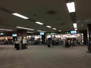 Passport control in terminal 2 of airport Tokyo Narita