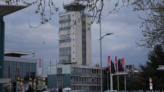 Диспетчерская башная аэропорта Белград Никола Тесла