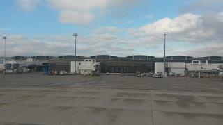 Terminal 2 of Paris airport Shar-de-Gaulle airport airside