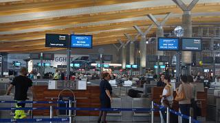 Стойки регистрации в аэропорту Осло Гардермуэн