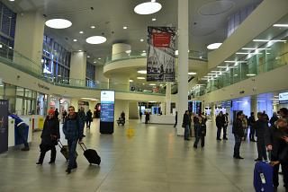 The arrival hall at the airport, Samara Kurumoch