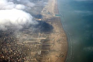 Побережье Каспийского моря недалеко от Баку