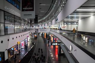 In terminal 3 of Vienna Schwechat airport