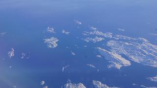 В полете над Северной Атлантикой