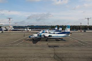 """Aircraft """"KrasAvia"""" airport Emelyanovo"""
