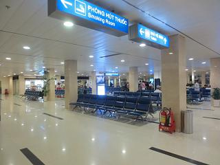 The waiting room in domestic terminal of airport Ho Chi Minh city tan son Nhat