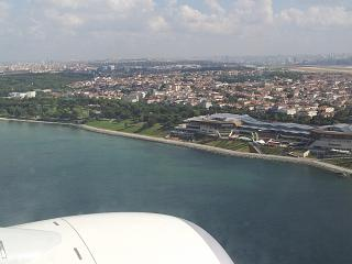 Views of Istanbul before boarding the airport Ataturk