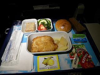 Питание на рейсе Тюмень-Улан-Удэ авиакомпании