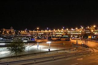 The terminal T1 of Madrid-Barajas airport