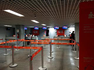 Стойки регистрации авиакомпании GOL в аэропорту Фос-ду-Игуасу