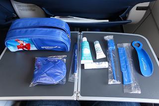 Дорожный набор пассажира бизнес-класса Аэрофлота