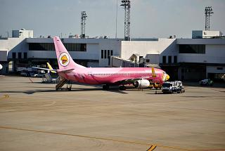 Boeing-737-800 airline Nok Air airport don Muang