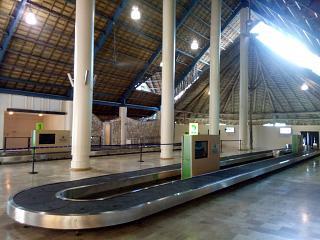 Зал выдачи багажа в аэропорту Пунта-Кана