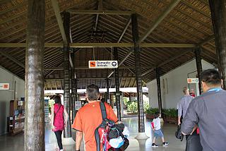 The arrival hall at Samui airport