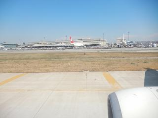 Cargo complex at the airport Istanbul Ataturk