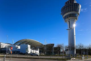 Control tower at Munich airport
