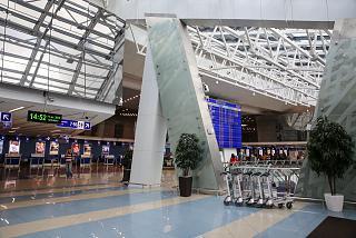 В аэровокзале аэропорта Минск Национальный