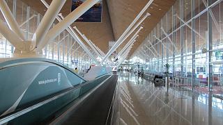 Крыло терминала-спутника аэропорта Куала-Лумпур