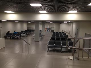 Remote lounge in Pulkovo airport