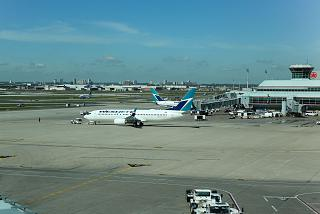 The tarmac at the Terminal 3 of Toronto Pearson international airport
