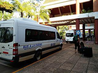 Автобусная остановка в аэропорту Пуэрто-Игуасу