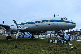 Самолет Локхид Констелейшн авиакомпании Lufthansa