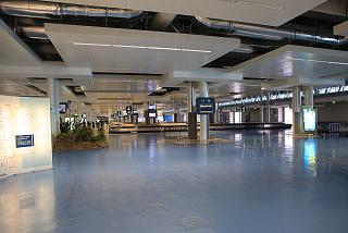 Baggage claim at the airport Port