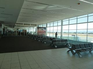 Lounges with boarding gates at the airport Adelaide