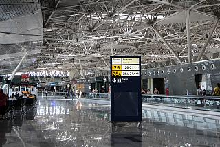 To clean the international departures terminal A of Vnukovo airport