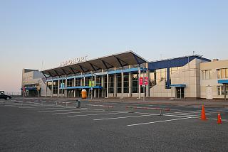 Tomsk airport passenger terminal