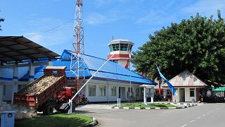 The building of the Directorate of pattimura airport