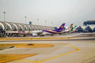 Passenger terminal Bangkok Suvarnabhumi