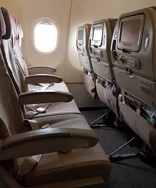 Seat economy class in Airbus A321 Asiana Airlines