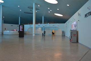 Общий зал в чистой зоне аэропорта Самара Курумоч