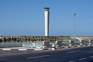 The control tower of the airport of Enfidha-Hammamet