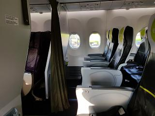 Class places Extra Space in the Boeing-737-800 S7 Airlines