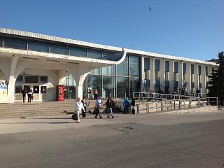 The terminal of the Khrabrovo airport in Kaliningrad