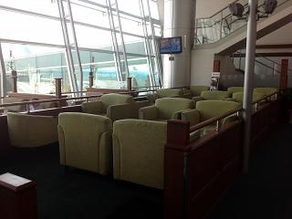 In the lounge the Skyteam airport Ho Chi Minh city tan son Nhat