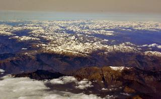 "Mountain national parks ""Ligurian Alps"" and ""Maritime Alps"" on the border of France and Italy"