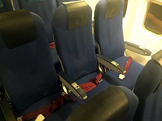 Business class on the Boeing-737-700 KLM