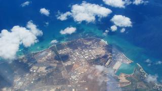 The Hawaiian island of Oahu
