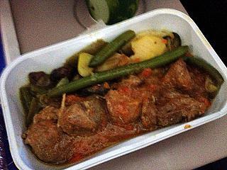 Питание на рейсе авиакомпании Трансаэро Москва-Майами