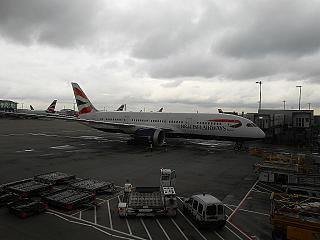 Boeing-787-8 British Airways at London Heathrow airport