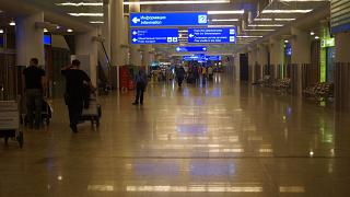 Arrival hall in terminal D of Sheremetyevo airport