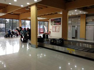 Baggage claim at the airport Poprad Tatry