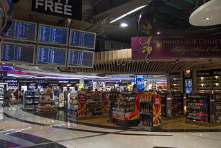 The Duty-Free shops in terminal 4 of Madrid-Barajas airport